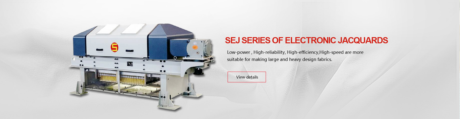 SEJ Series Of Electronic Jacquards